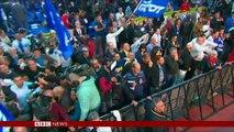 How Israeli election night unfolded - BBC News