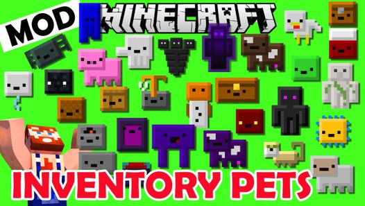 Minecraft PETs Inside your INVENTORY ! Inventory Pets Mod ...