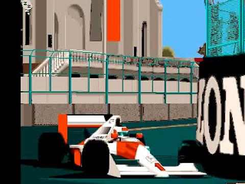 Formula one Grand Prix – Intro. Commodore Amiga.
