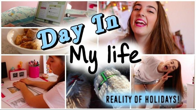 Day In My Life // Reality of Holidays!!