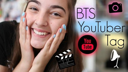 Behind The Scenes YouTuber Tag!!