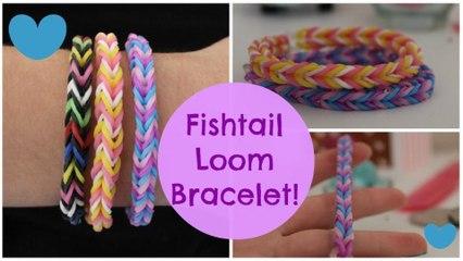 Fishtail Loom Bracelet Tutorial!