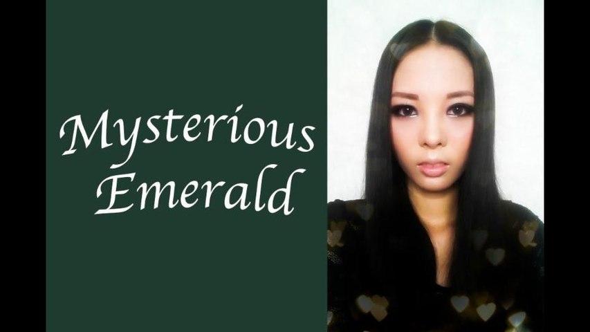 【棉花糖】Mysterious Emerald Makeup (X'MAS Party Makeup)