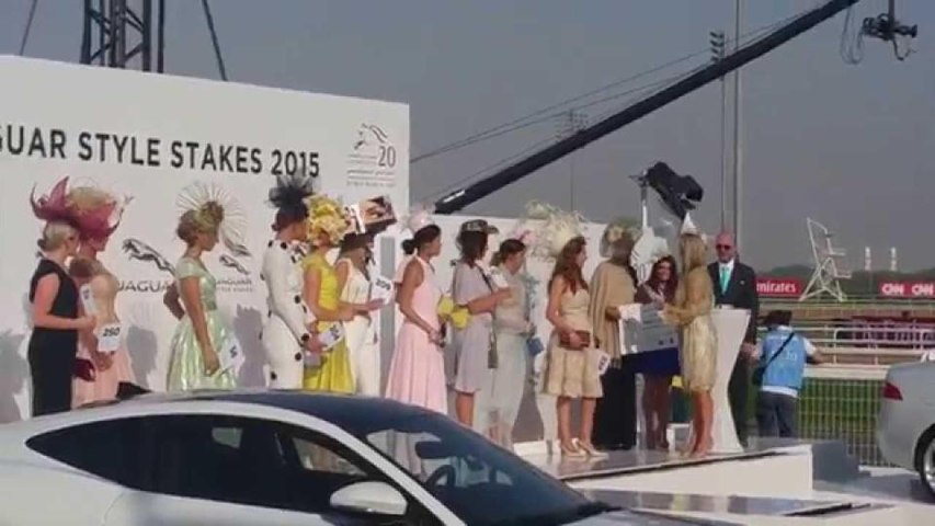 Worlds Richest Horse Race  & Fashion On The Field