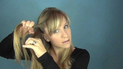 Pretty, Easy, Party Half-up Hair Tutorial