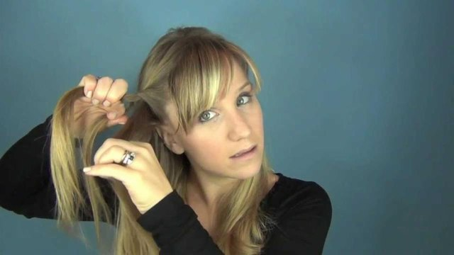 Pretty, Easy, Party Half-up Hair Tutorial