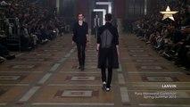 Men Lanvin Paris Menswear Collection Spring Summer 2015