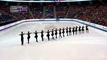 World Synchronized Skating Championships  2015 SP-Team Canada 1