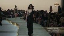 Fashion Week From The Runway ROBERTO CAVALLI Milan Fashion Week Spring Summer 2015