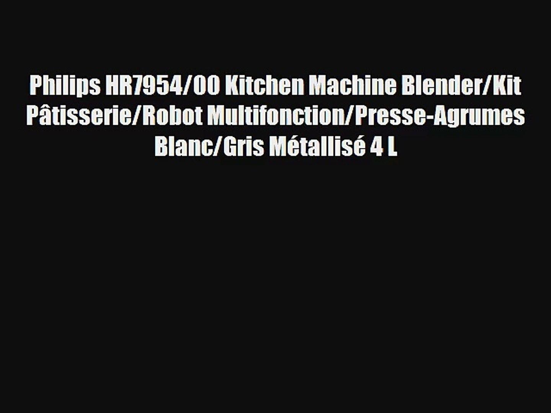 Philips HR795400 Kitchen Machine BlenderKit Pâtisserie