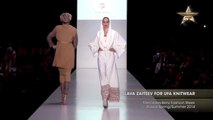 Full Shows SLAVA ZAITSEV FOR UFA KNITWEAR Mercedes-Benz Fashion Week Russia Spring Summer 2014 Part 2
