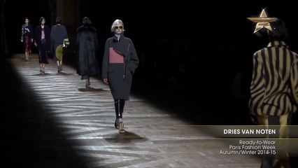 Fashion Week Dries Van Noten Ready-to-Wear Paris Fashion Week Autumn Winter 2014-15