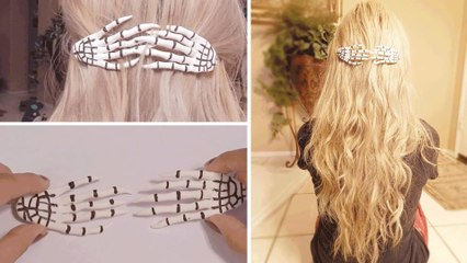 DIY: Skeleton Hand Hair Accessory | Hellosharla