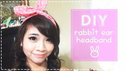 DIY Usamimi or Rabbit Ear Headband | Hellosharla