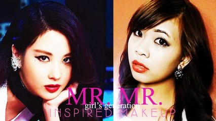 Girl's Generation 'Mr. Mr.' Inspired Makeup Tutorial | Hellosharla