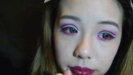 Melo Lo - Halloween Make-up爛臉小姑娘