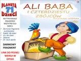 ALI BABA I CZTERDZIESTU ZBÓJCÓW czyta Marcin Nowakowski - Bolesław Leśmian (audiobook, baśnie dla dzieci)