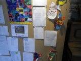 mur de poèmes à l'IME l'Eveil ...