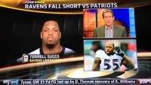 Terrell Suggs calls Skip Bayless a douchebag