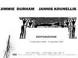 "Jimmie Durham & Jannis Kounellis: ""Deposizione"", RAM radioartemobile, Rome, 2006-2007"