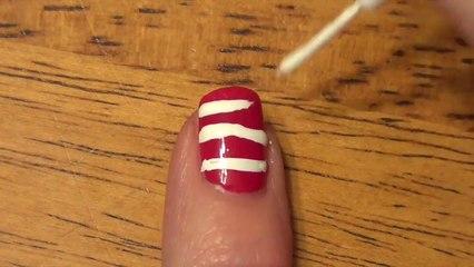 Beginner Nails: Holiday Nails #1