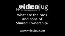 What are the pros and cons of shared ownership?: Shared Ownership