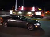 Aston Martin Vantage V8 just arrived - First night out.