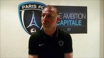 Réaction de Christophe Taine après Paris FC - Epinal (2-0)