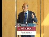 Archive - Point presse de Pierre Moscovici le 22 août 2012
