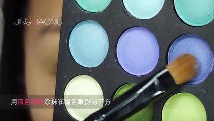 菁俏妞_JingQiaoniu_第四期化妆教程之圣诞约会妆_12.23.2011