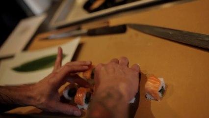 Katsuya Teaches Us How To Make Sushi