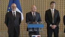 Archive - Passation de pouvoirs de Pierre Moscovici à Michel Sapin et Arnaud Montebourg