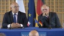 Archive - [Version française] Rencontre franco-allemande à Bercy, le 28 août 2014