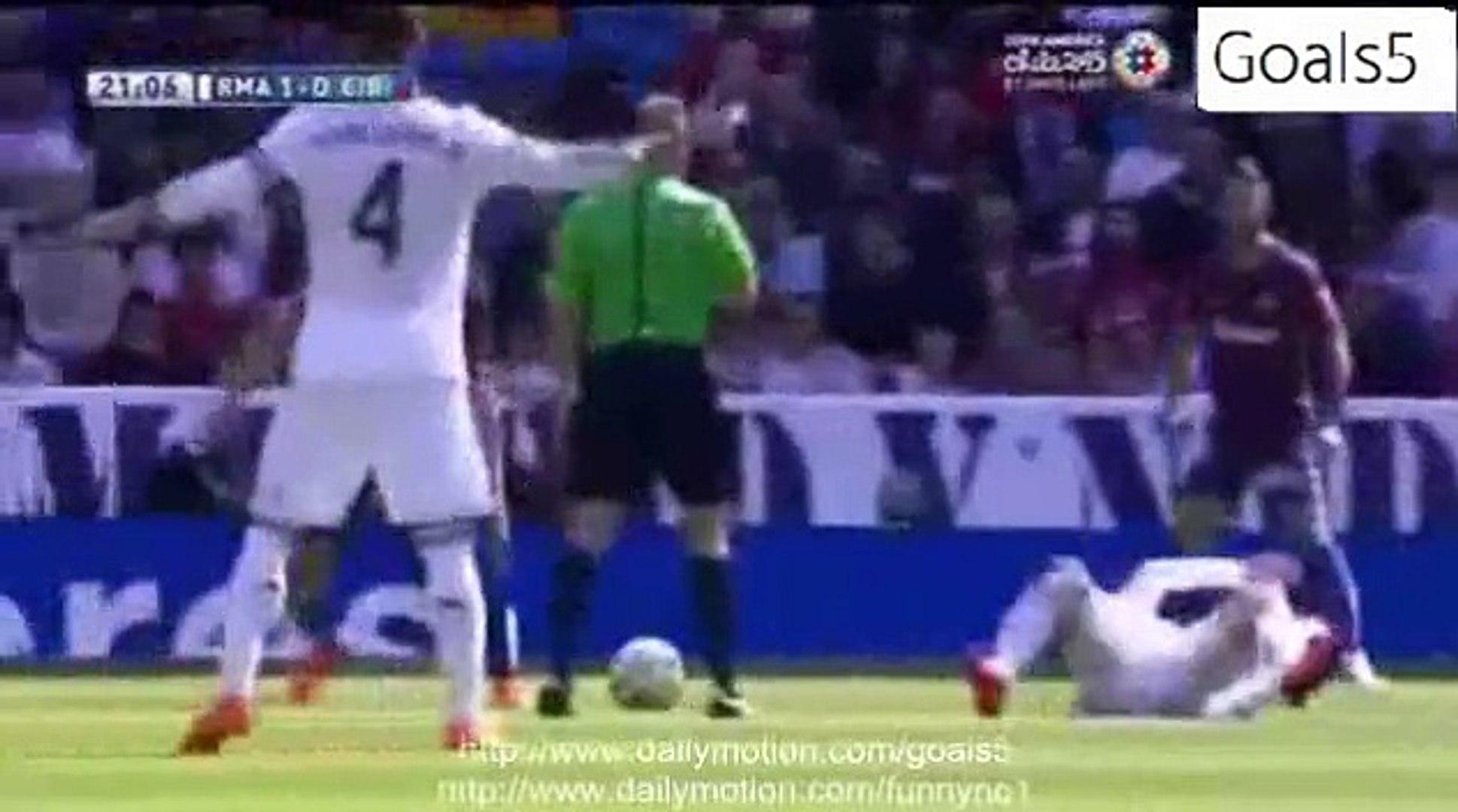Real Madrid 3 - 0 Eibar All Goals and Highlights La Liga 11-4-2015