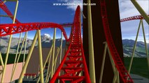 Cannibal: Lagoon Amusement Parks 2015 Roller Coaster [No Limits 1]