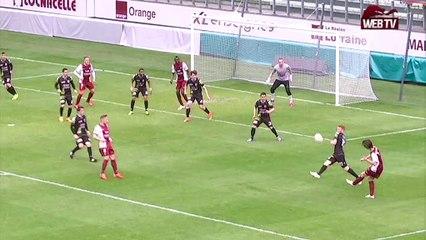 CFA - FC Metz-Yzeure : Le but de Janis Ikaunieks