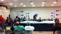 Tim Storm vs. Apoc - NWA Bayou Independent Wrestling - NWA North American Heavyweight Championship