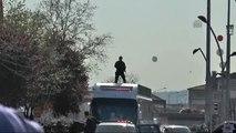 Cumhurbaşkanı Erdoğan, Büyükşehir Belediyesi ile Garnizon Komutanlığı'nı Ziyaret Etti