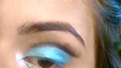 Exotic Blue Summer Goddess Makeup!