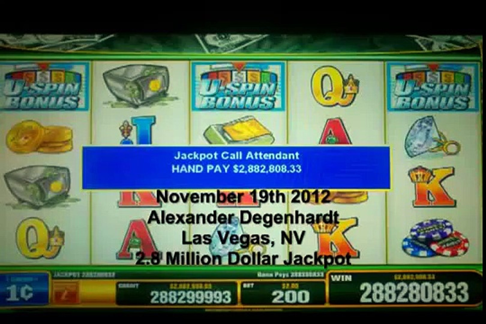 Marine wins 2 8 Million Dollar Jackpot