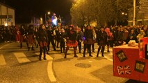Carnaval des Gais Lurons. La fête bat son plein pour le défilé de nuit