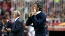Luis Enrique happy Barça are still leaders