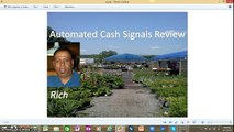 Automated Cash Signals Review,Is Automated Cash Signals Worth Your Money