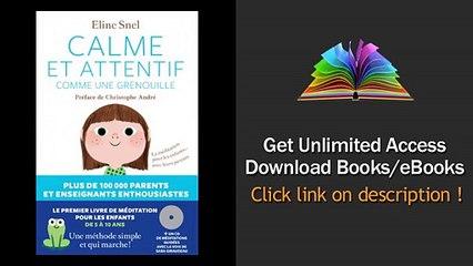 Download PDF Calme et attentif comme une grenouille CD