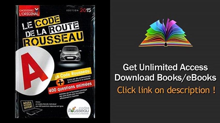 Download PDF Code Rousseau de la route B 2015