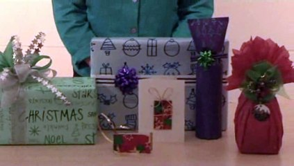 How To Make Decorations To Your Gift Wrapped Bottle