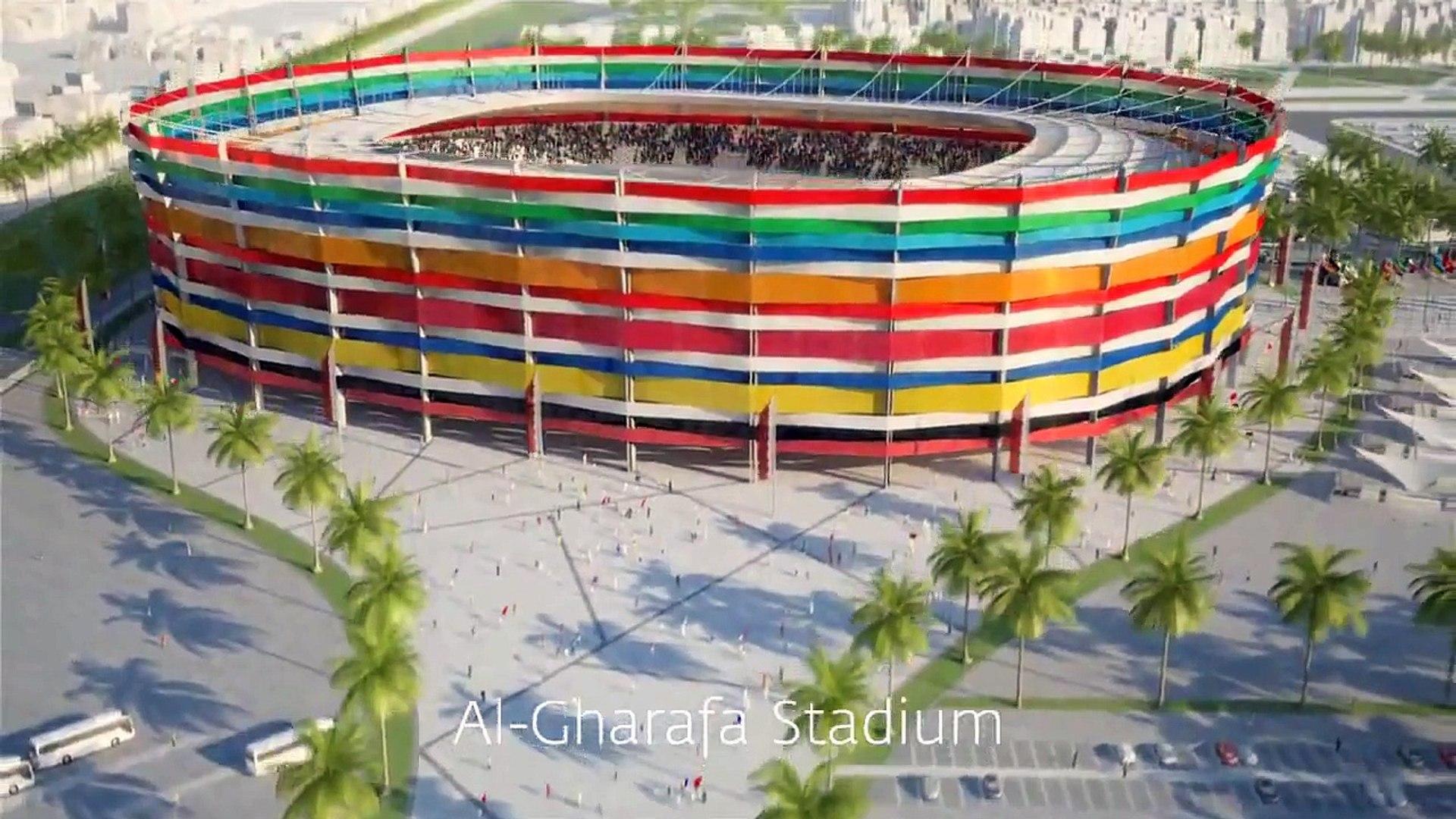 2022 Qatar World Cup Stadiums - Estadios De La Copa Del Mundo Qatar 2022