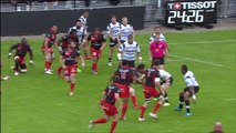 TOP14 - Brive - Lyon: Essai George Smith (LYO) - J22 - Saison 2014/2015