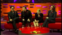 Ricky Gervais tells funny story about Johnny Depp + best ever red chair story on Graham Norton Show