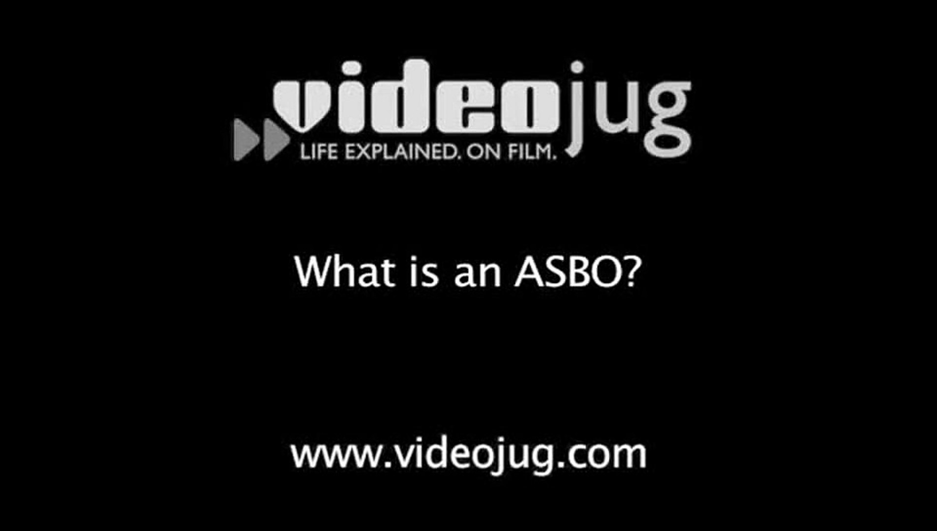 What Is An Asbo >> What Is An Asbo Young Offenders
